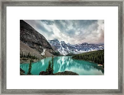 Imaginary Lake Framed Print
