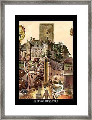 Imaginary Postcard  3 Framed Print by Mandi Blais