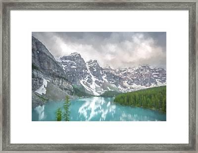 Imaginary Waters IIi Framed Print by Jon Glaser