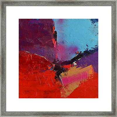 Framed Print featuring the painting Imagination - Art By Elise Palmigiani by Elise Palmigiani