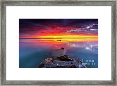 Imagination Is The Beginning Of Creation Framed Print by Andrew Slater