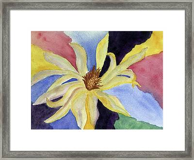 Framed Print featuring the painting Imagination by Joan Zepf