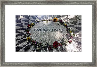 Imagine 2015 Framed Print by Rob Hans