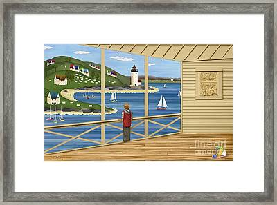 Imagine Framed Print by Anne Klar