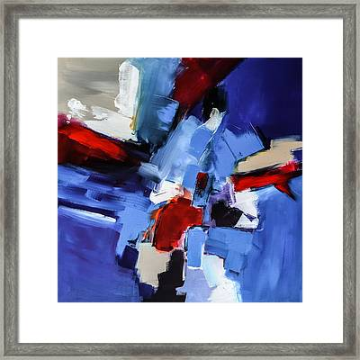 Framed Print featuring the painting Imagine - Art By Elise Palmigiani by Elise Palmigiani