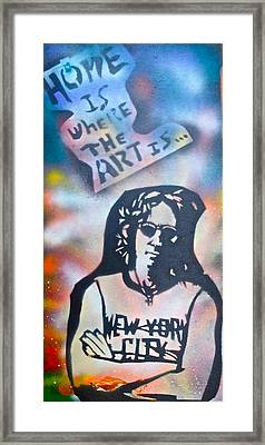 Imagine Art Framed Print by Tony B Conscious