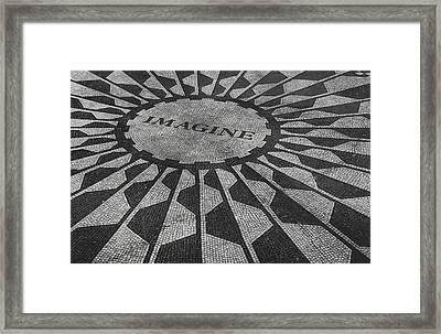 Imagine Framed Print by Jerrett Dornbusch