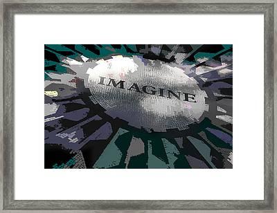 Imagine Framed Print by Kelley King