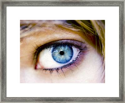 Imagine Framed Print by Kelly Jade King
