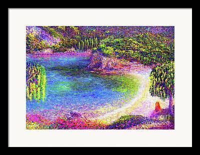 Imagined Landscape Framed Prints