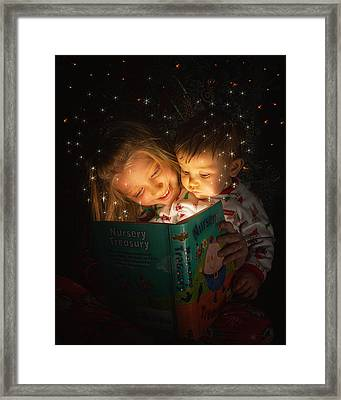 Imagine Framed Print by Ron McGinnis