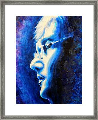 'imagine' Framed Print by Susi Franco