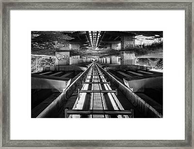Imaginery Tracks Framed Print