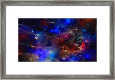 Cosmic Jerusalem Framed Print