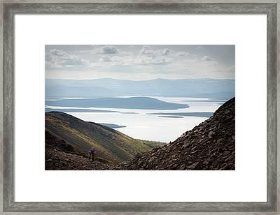 Imandra Lake Framed Print by Konstantin Dikovsky