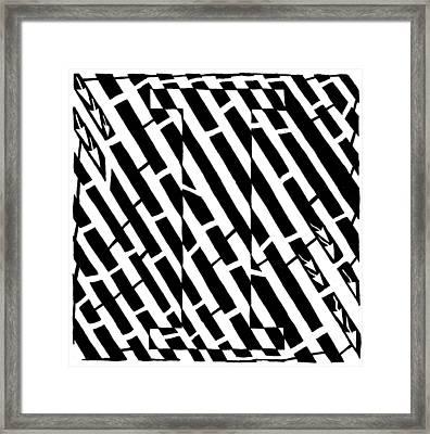 iMaze Framed Print by Yonatan Frimer Maze Artist