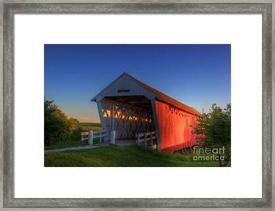 Imes Covered Bridge Framed Print