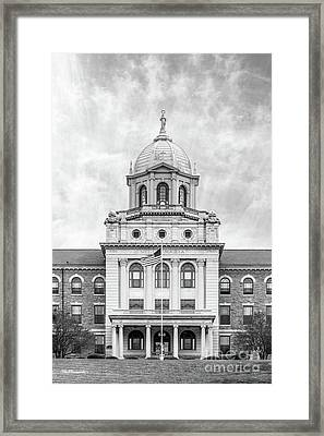 Immaculata University Villa Maria Hall Center Framed Print by University Icons