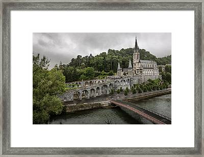Immaculate Conception And Rosary Basilica Framed Print
