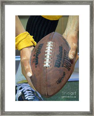 Immaculate Reception Framed Print