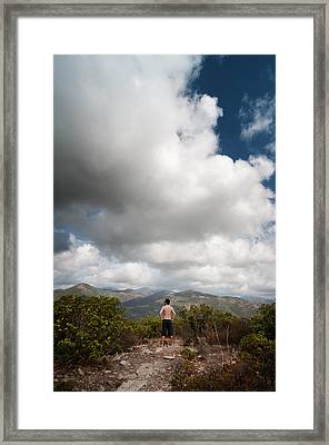 Framed Print featuring the photograph Immensity by Laura Melis