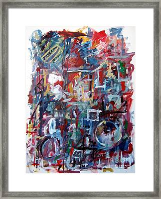 Immerhin Schoen Framed Print by Michael Henderson