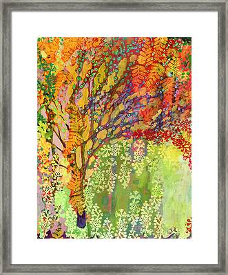 Immersed In Summer Part 2 Of 3 Framed Print by Jennifer Lommers