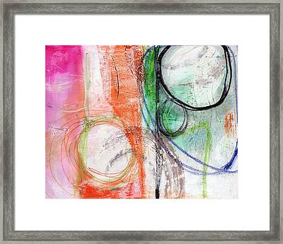Immersed Framed Print by Linda Woods