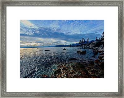 Immersed Framed Print by Sean Sarsfield