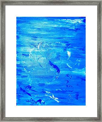 Immersion Framed Print by Piety Dsilva