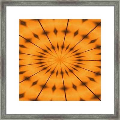 Immersion Framed Print by Tom Druin