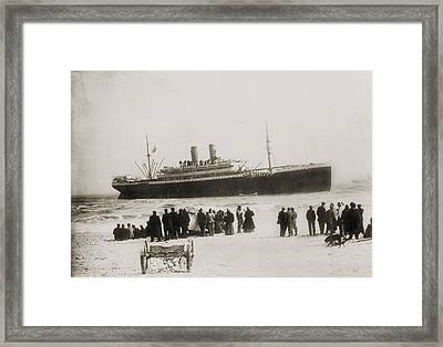 Immigrant Ship From Italy, The Princess Framed Print
