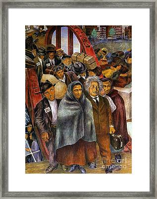 Immigrants, Nyc, 1937-38 Framed Print by Granger
