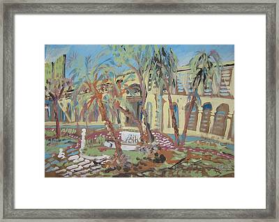 Immigration Museum Sao Paulo Framed Print by James McCormack