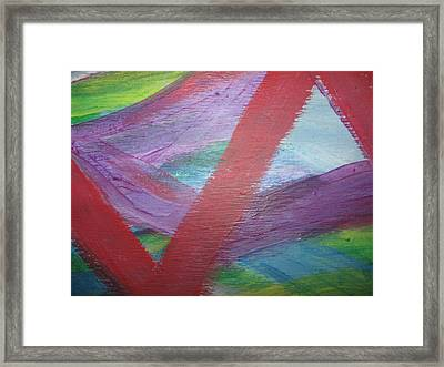 Imminent Immobility Framed Print