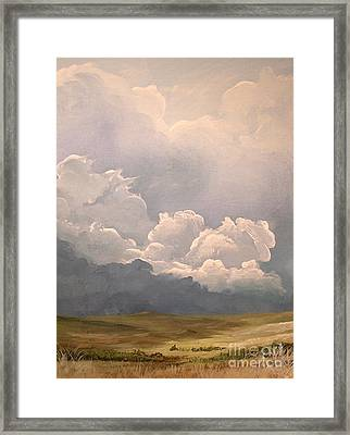 Imminent Tempest Framed Print by John Wise