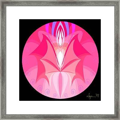 imp Framed Print by Angela Treat Lyon