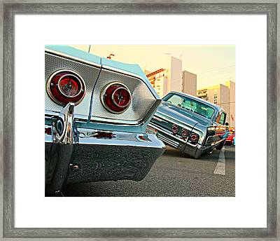 Impala Low-riders Framed Print