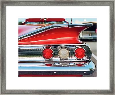 Impala Ss Convertible Framed Print by Jon Woodhams