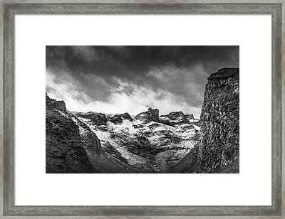 Impass Framed Print
