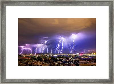Impending Doom Framed Print by Steve Baranek