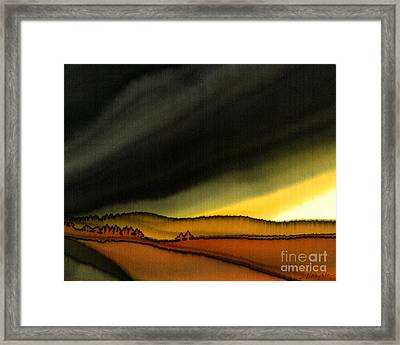 Impending Storm Framed Print by Addie Hocynec