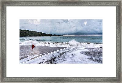 Impending Storm  Framed Print by Michael Santos