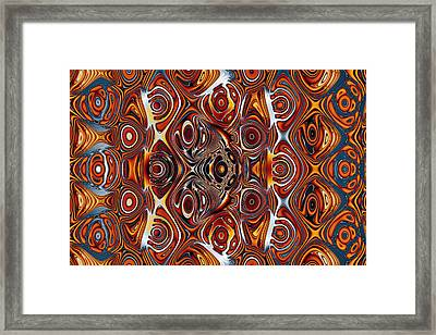 Imperfect Repetition No. 2 Framed Print