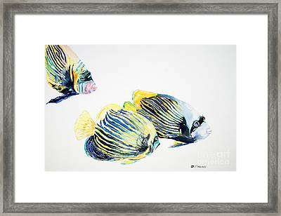 Imperial Angels Framed Print