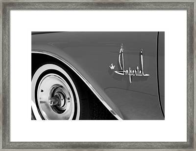 Imperial Framed Print by Audrey Venute