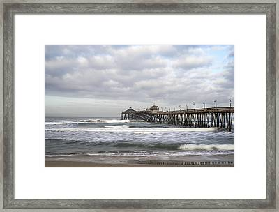 Imperial Beach Pier Framed Print