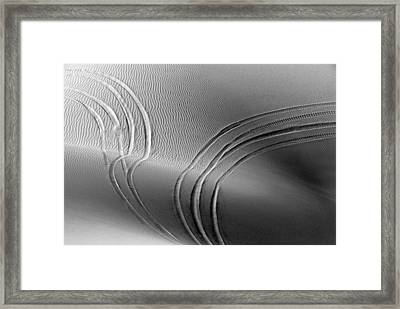 Imperial Dunes 562 Framed Print by Hans Mauli