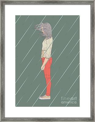 Imperturbable Framed Print by Freshinkstain