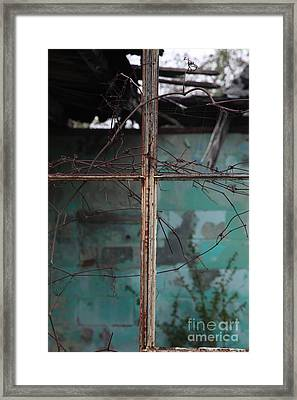 Imposition Framed Print by Amanda Barcon